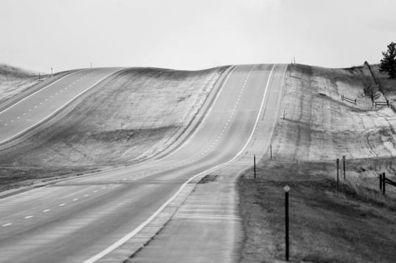 ROAD, near Hot Springs, South Dakota copia