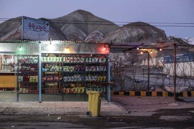 Tehran-Tabriz - Sulla strada