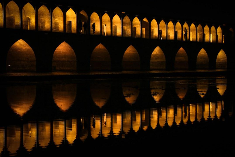 Esfahan - Si-o-se Pol (Ponte dei trentatré archi)