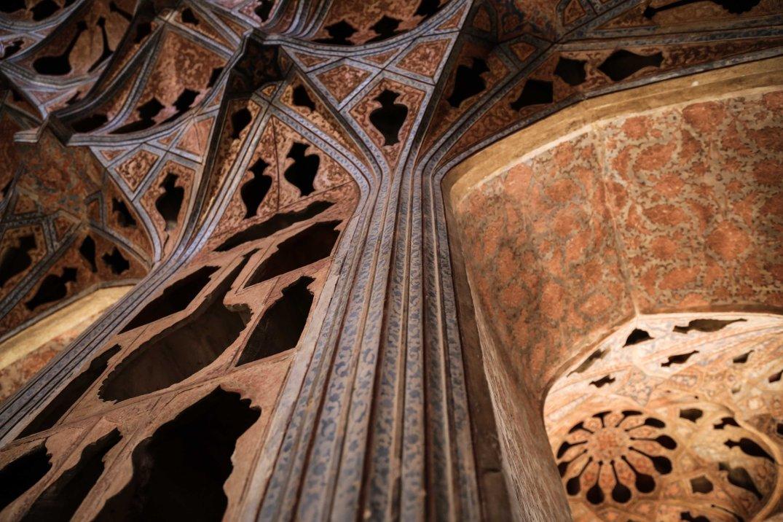 Esfahan - Palazzo Ali Qapu (Sala della musica)