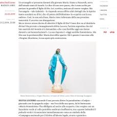NO - 2019-05-22 In Argentina anche la «Vergine abortista» è desaparecida il manifesto