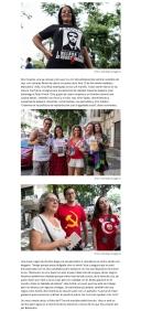 Tiempo.2019-11-11 El rojo de unos y el amarillo de otros pintan las calles de Río de Janeiro-3
